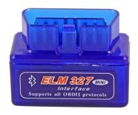 ELM327 Bluetooth Mini Blue 1.5 (Русская версия)